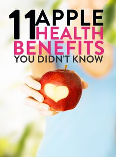 11 apple health benefits that you didn't know about. This favorite fruit packs a health (and fitness) punch. The fat burning tip may be my favorite! Health And Fitness Tips, Health And Wellness, Health Tips, Fat Burning Tips, Fat Burning Foods, Apple Health Benefits, Fat Burning Supplements, Lose Weight, Weight Loss