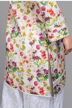 Casual Formal Dresses, Pakistani Dresses Casual, Pakistani Dress Design, Simple Dresses, Kurti Sleeves Design, Sleeves Designs For Dresses, Dress Neck Designs, Girls Dresses Sewing, Dresses Kids Girl