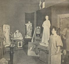 Teresa Feoderovna Ries (also known as Theresa Feoderovna Ries) was a Russian-born Austrian sculptor and painter. History Class, Art History, Station To Station, Artist Quotes, Art Studios, Artist At Work, Vienna, Female Art, Modern