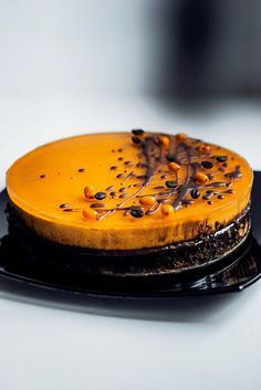 Sea buckthorn cake - Site janecook!