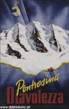 Pontresina Diavolezza Schweiz