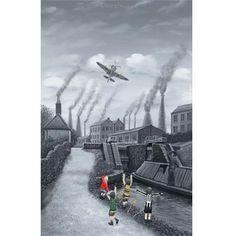 Spitfire 12 O'clock High by Leigh Lambert