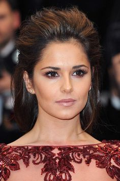 Cheryl Cole. | 26 Celebrities Who Prove Too Much Makeup Can Change Your Face