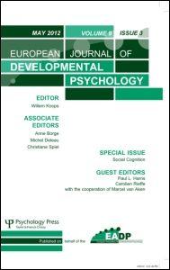 EUROPEAN JOURNAL OF DEVELOPMENTAL PSYCHOLOGY