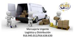 Mensajería Gm Urgente en Leganés a su servicio :)