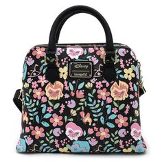Loungefly X Disney Alice in Wonderland Flowers AOP Cross Body Bag – Loungefly.com Alice In Wonderland Flowers, Leather Material, Cross Body Handbags, Purses And Bags, Crossbody Bag, Satchel Purse, Disney, Absolutely Gorgeous, Beautiful