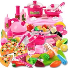 Improve kids hands-on ability and imagination capacityPretend play cooking toy set can develop children's intelligence #myrrhshop #onlineshoppingnetwork #babytoysforlearning http://babytoys.myrrhshop.com/product/48-pieces-early-age-kids-basic-skills-development-pretend-play-cookware-toy-children-ice-cream-playset-educational-kitchen-cooking-toys-baby-girl-boy-fruit-vegetable-sets/