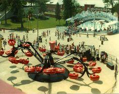 Monster ride at Cedar Point Amusement Park: circa 1983 Ohio Amusement Parks, Amusement Park Rides, Cedar Point Ohio, Vermilion Ohio, Marblehead Ohio, Abandoned Cities, Abandoned Mansions, Sandusky Ohio, Roller Coaster Ride