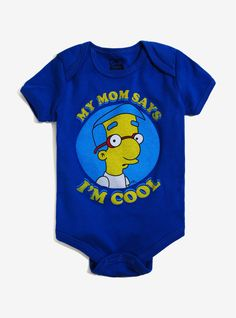 This onesie for the baby who is a total momma's boy and doesn't care what you have to say about it.   29 Gifts For The Coolest Baby You Know
