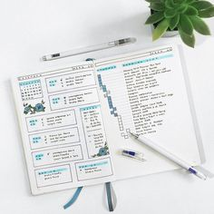 Organization Bullet Journal, Bullet Journal Notes, Bullet Journal How To Start A, Bullet Journal Spread, Bullet Journal Layout, Bullet Journal Inspiration, Journal Ideas, Planner Journal, Studyblr