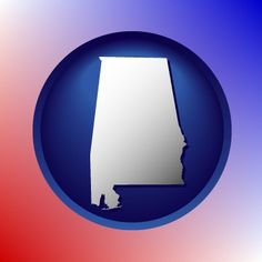 A map icon for Alabama.