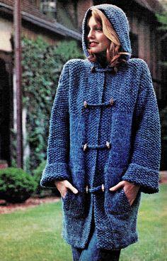 70s duffle coat
