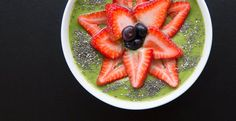 Green Vegan Smoothie Bowl