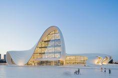 designs of the year 2014 category winners announced (heydar aliyev center, baku, azerbaijan – designed by zaha hadid and patrik schumacher, architecture category winner)