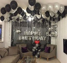 Birthday Party Decorations For Adults Men Decor Best Ide.- Birthday Party Decorations For Adults Men Decor Best Ideas Birthday Party Decorations For Adults Men Decor Best Ideas - Adult Birthday Party, Man Birthday, Birthday Room Surprise, 25th Birthday Ideas For Him, Boyfriends 21st Birthday, Happy Birthday, Birthday Surprises For Him, Birthday Gifts, Romantic Birthday