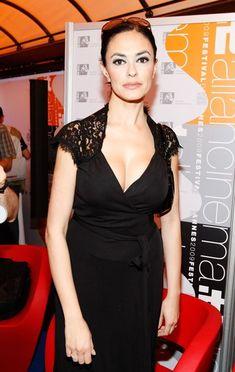 Maria Grazia, One Shoulder, Formal Dresses, Actors, Female, Film, Black, Fashion, Dresses For Formal