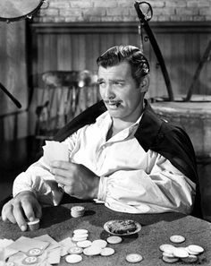 Clark Gable in a scene from Gone With the Wind, 1939.