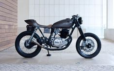 Yamaha SR250 Cafe Racer Saudade by Tricana Motorcycles #caferacer #motos | caferacerpasion.com
