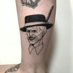 from @eva90s - THE MASK  (First tattoo of the year) Done today at @labohemetattooparlour  Per info ed appuntamenti / for booking  Evabanks.eb@gmail.com #tattooart #superbtattoos #tattooist  #tattoosnob #drawing #tatuaggio #tattoooftheday #unconventional #tattooitalia #tattoomilano #tattoolife #blackwork #tattooconvention #blackwork #blackworkerssubmission #labohemetattooparlour #foto #pic #passion #tattoo #like4like #evabanks #equilattera #onlyblackart #tattoo #bodyart #art #tattoodo…