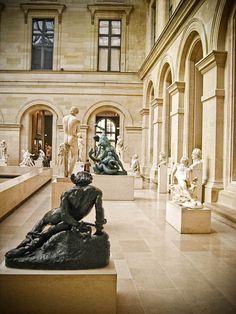 Mussée du Louvre, Paris, France Cour Puget