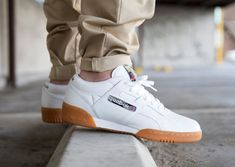 huge-reebok-classic-range These joints take me back to high school in the early White Casual Shoes, Casual Sneakers, Sneakers Fashion, Reebok Workout Low, Tenis Basketball, Nike Boots, Classic Outfits, Shoe Collection, Nike Men