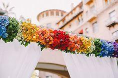 Rainbow Wedding Theme Photo 16