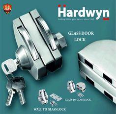 HEML 56B Glass Door Lock