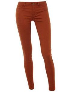 Ginger fly front jeggings - we love this colour!  Definitely a versatile and trendy wardrobe piece and only AUD$38