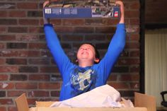 Boy With Asperger's Is Ecstatic After Train Set Surprise!