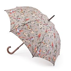 Cath Kidston Kensington-2 British Birds Grey - Fulton Umbrellas