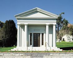 Seeking a personal mausoleum design for your family estate? Visit our website for inspiration and we'll help you craft the exact design your family desires. Woodlawn Cemetery, 2017 Design, Throughout The World, Granite, Gazebo, Construction, Outdoor Structures, Corinthian Columns, Architecture