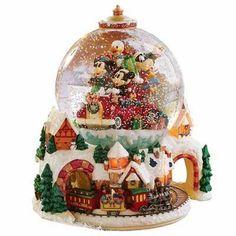 Disney Vintage Radko Christmas Snowglobe Le 1000 Mint Condition | eBay