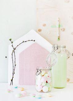 Ikea pastel decor