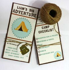 adventure, campout, outdoors, camp, great outdoors Birthday Party Ideas | Photo 1 of 26 | Catch My Party