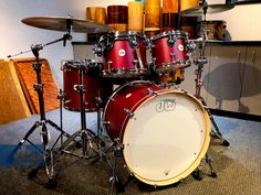 Satin Deep Cherry an Drums Pictures, Dope Music, Drum Kits, Cherry, Music Instruments, Satin, Deep, Drummers, Modern