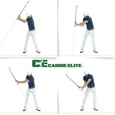 Fix Your Swing in Seconds  Plane Sight Laser Golf Training Aid By Caddie Elite *** Click image to review more details.