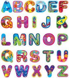 Alphabet Cut Out Letters New Capital Letters Alphabet Cute Fonts Alphabet, Alphabet Stickers, Alphabet For Kids, Animal Alphabet, Alphabet And Numbers, Alphabet Letters, Professional Cover Letter Template, Simple Cover Letter Template, Letter Templates