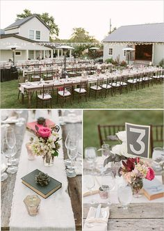 outdoor reception table decoration ideas- like the linen runners Outdoor Wedding Reception, Wedding Receptions, Rustic Wedding, Our Wedding, Dream Wedding, Wedding Ideas, Outdoor Weddings, Country Weddings, Reception Table Decorations