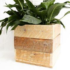 Cache-pot modulable position alignée    #cachepot #plante #palette #DIY #bois #deco #maison #madeinfrance #artisanat #correze