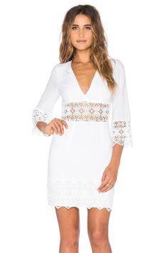Nightcap Tulum Cutout Dress en Blanco | REVOLVE