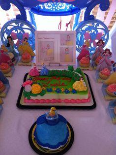 Because every birthday deserves a theme... : Disney Princess Birthday Party