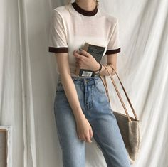 Korean Girl Fashion, Korean Fashion Trends, Korean Street Fashion, Ulzzang Fashion, Asian Fashion, Pretty Outfits, Cool Outfits, Casual Outfits, Fashion Outfits