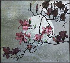 С них цветы сияют вящно