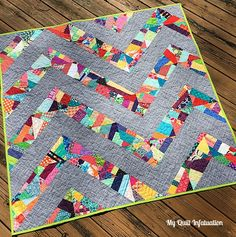 My Quilt Infatuation: Distortion and NTT