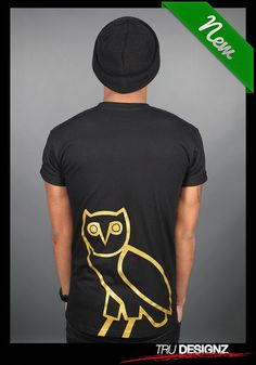 3510e3697dc69 Drake OVO Owl Started From The Bottom TShirt by truedesignz