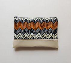 Handmade clutch bag, African print bag, chevron clutch bag,  zipper clutch  Etsy https://www.etsy.com/listing/270739638/zipper-clutch-bag-chevron-clutch-bag