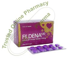 Buy Fildena 100 mg Fildena is an Erectile Dysfunction treatment medicine created in India by Fortune Health Care. It is a tiny pill that you can take to get an erection quickly. It is a breakthrough drug that contains Sildenafil. When you take Fildena, the effects can take 30 minutes to take effect. The resulting erection can leave you satisfied for hours.