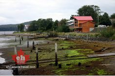 Haida Gwaii, BC, Canada. The Village of Masset.