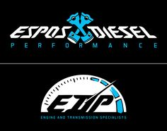 Logo for Espos Diesel.   Located in Plattsburgh, NY    #logo #design #art #diesel #trucks #branding