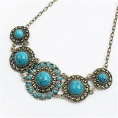 Bohemia Vintage Flowers Neck Collar Necklace Choker Jewelry Women Gift